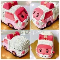 【雄爸客製化造型蛋糕】粉紅ㄅㄨㄅㄨ