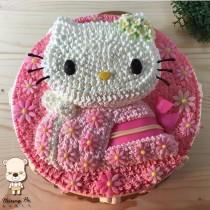 【雄爸手作客製化造型蛋糕】和服小姐