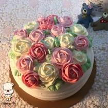 【婚禮蛋糕客製】祝福8吋