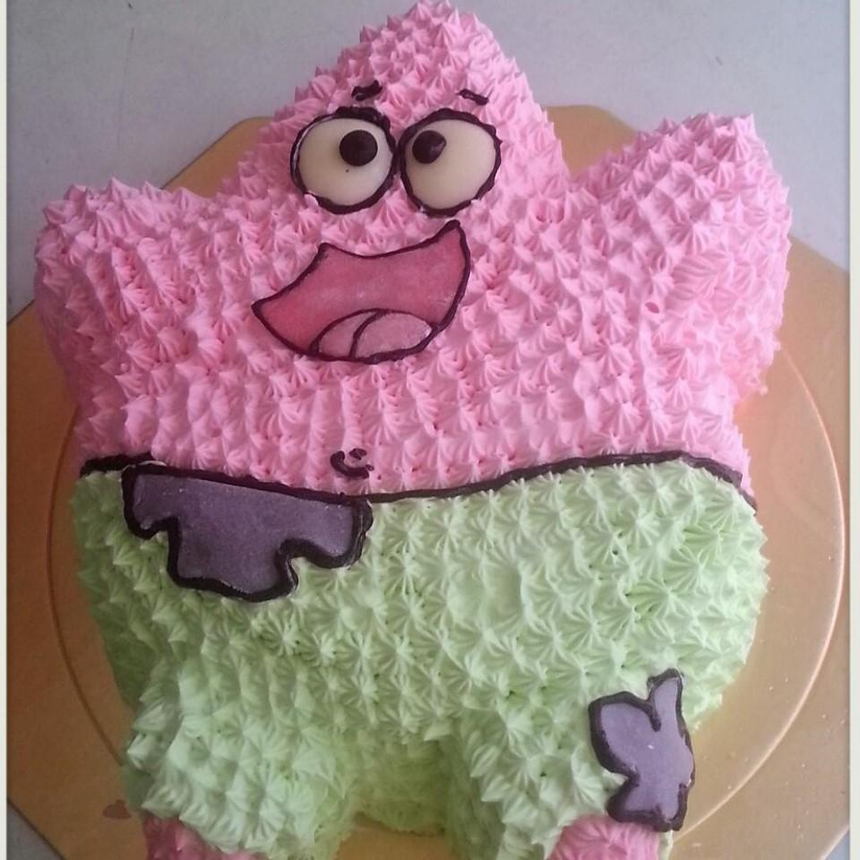【雄爸手作客製化造型蛋糕】派小星