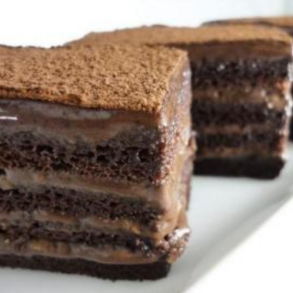 【雄爸鴉片坊濃醇的巧克力味】典藏巧克力蛋糕  小朋友下午茶點心