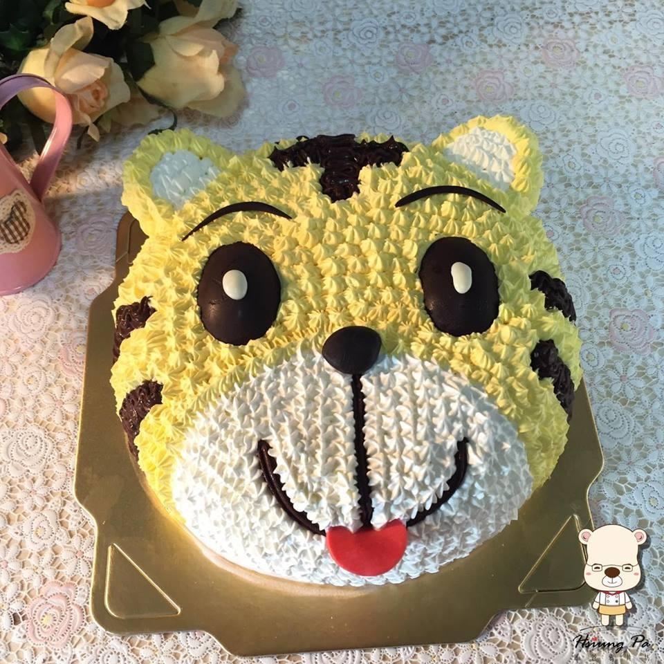 【雄爸手作客製化造型蛋糕】卡哇伊巧小虎