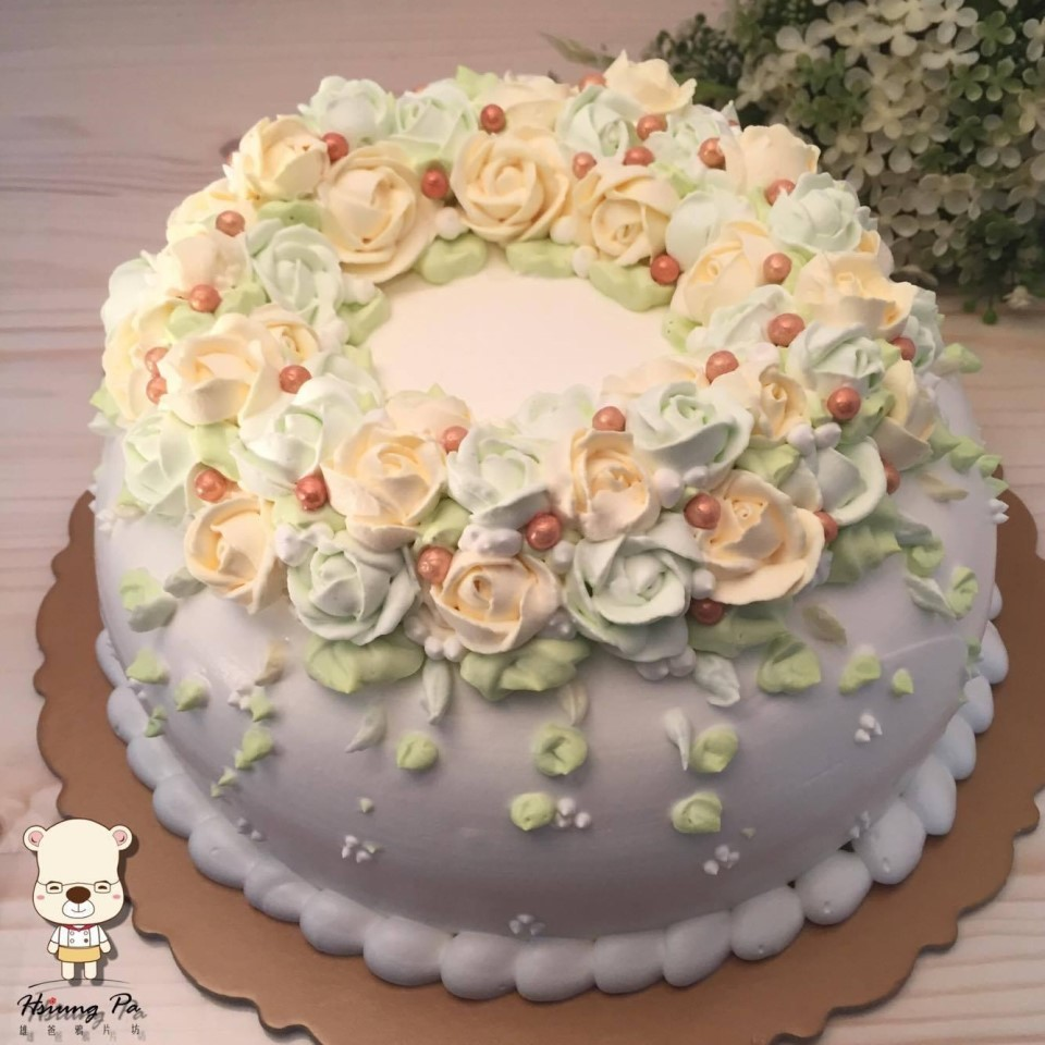 【婚禮蛋糕客製】永恆回憶8吋