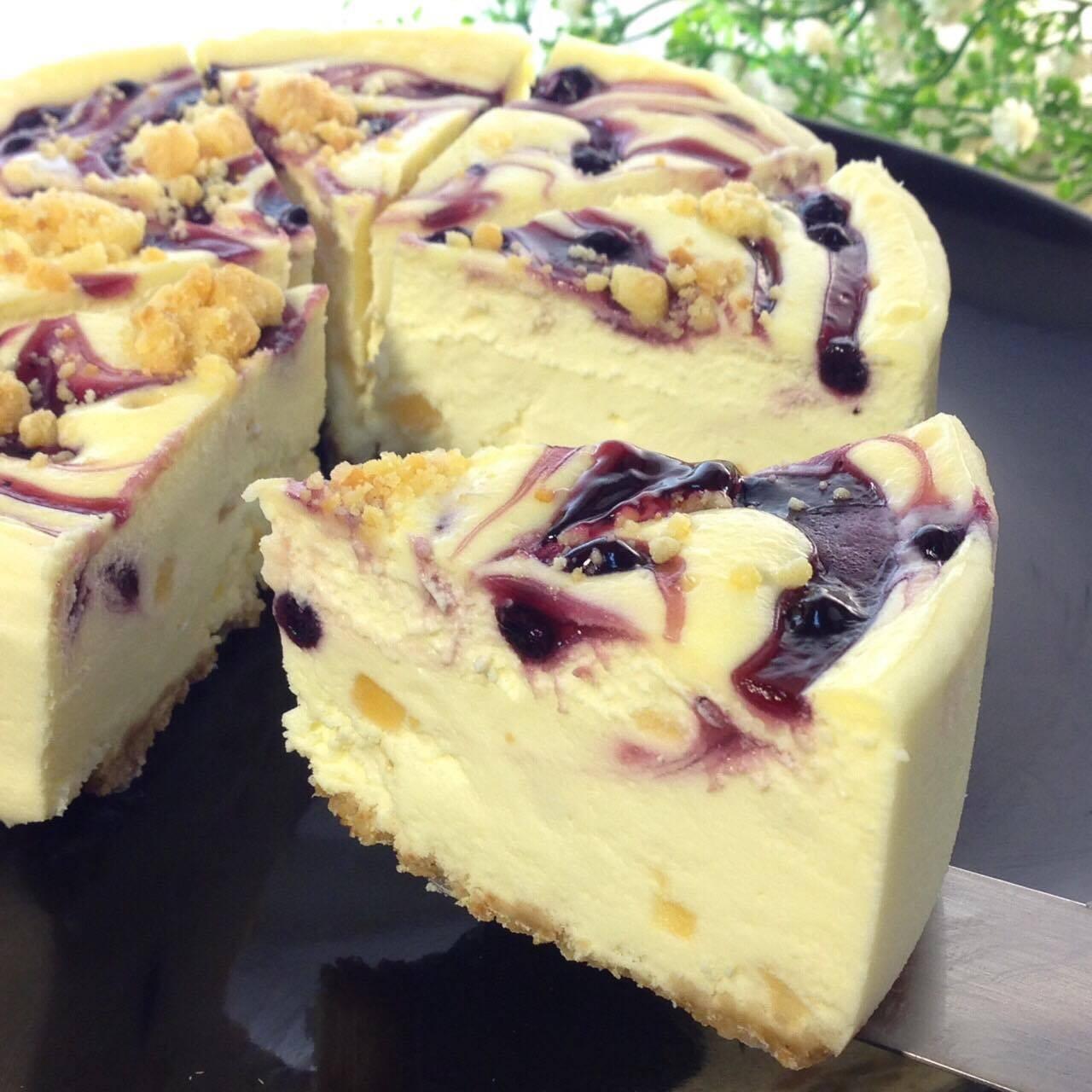 【雄爸鴉片坊創意特色乳酪】鄉村藍莓蘋果起士蛋糕  彌月蛋糕推薦