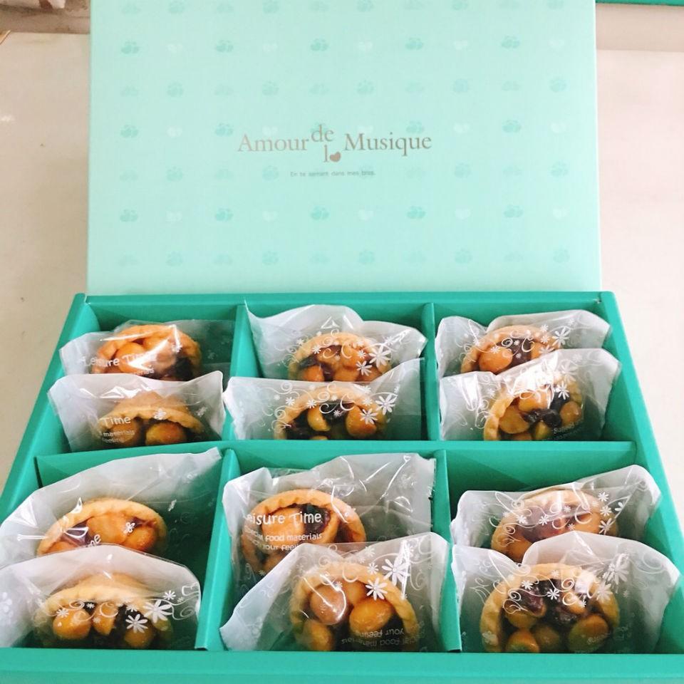 焦糖火山豆塔禮盒 12入裝