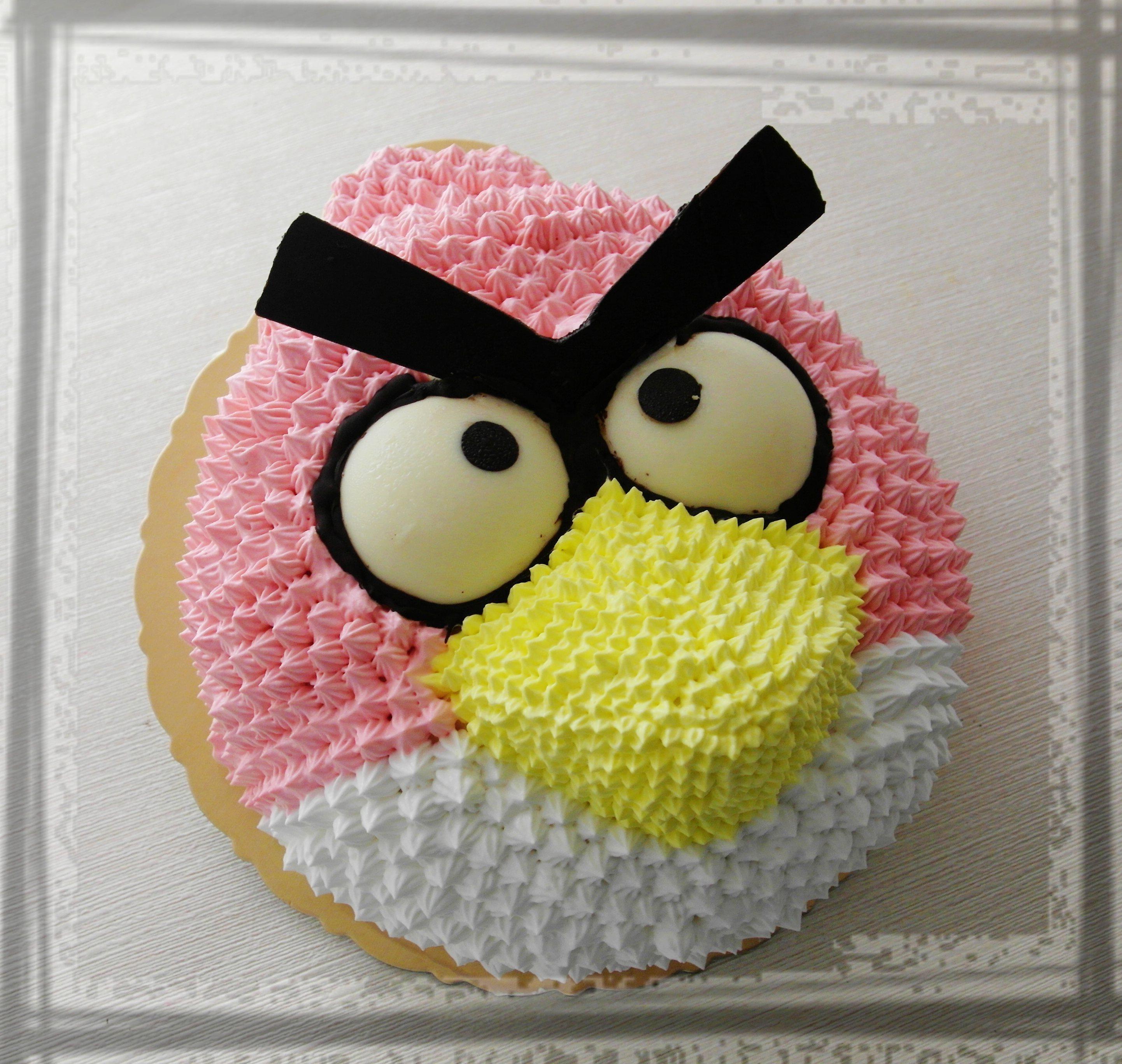 【雄爸手作客製化造型蛋糕】遊戲鳥