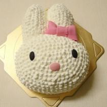 【雄爸手作客製化造型蛋糕】小兔