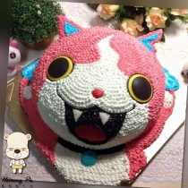 【雄爸手作客製化造型蛋糕】妖怪貓
