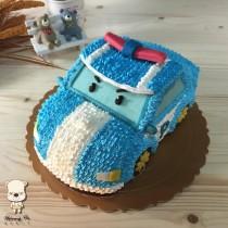 【雄爸手作客製化造型蛋糕】小波車車