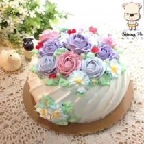 【婚禮蛋糕客製】圓滿8吋