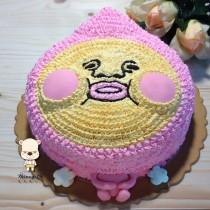 【雄爸手作客製化造型蛋糕】有趣屁桃