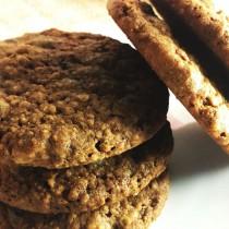 【雄爸鴉片坊手工餅乾系列】燕麥核桃巧克力美式餅乾 ☆下午茶點心