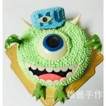 【雄爸手作客製化造型蛋糕】獨眼怪