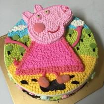 【雄爸手作客製化造型蛋糕】粉紅妹