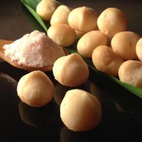 【好吃堅果零食】喜馬拉雅玫瑰岩鹽夏威夷豆☆小資經濟包