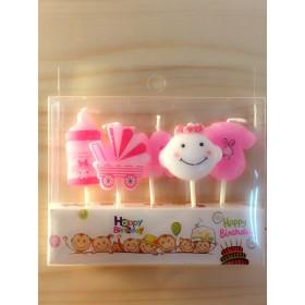 【生日派對】可愛造型蠟燭加購區